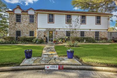Houston Single Family Home For Sale: 4903 Dunsmere Street