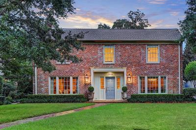 Houston Single Family Home For Sale: 3809 Inwood Drive