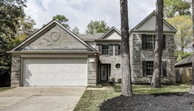 The Woodlands Single Family Home For Sale: 7 Evening Song Court