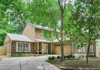 The Woodlands Single Family Home For Sale: 6 E Wandering Oak Drive