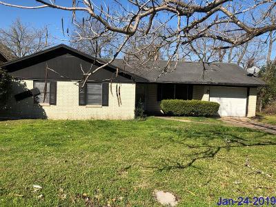 Brenham Single Family Home For Sale: 808 W Jefferson Street