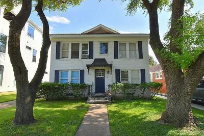 Houston Multi Family Home For Sale: 1517 Bonnie Brae Street