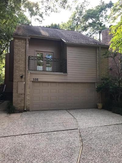 Memorial Single Family Home For Sale: 108 Sugarberry Circle