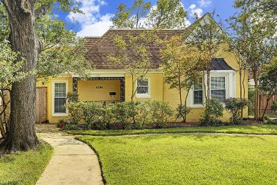 Houston Single Family Home For Sale: 4394 Varsity Lane