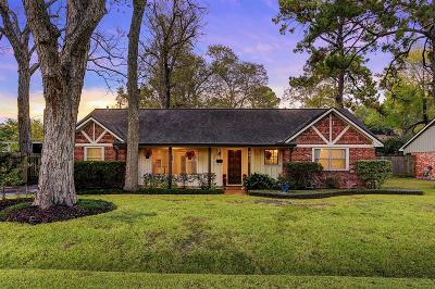 Houston Single Family Home For Sale: 9210 Rangely Drive