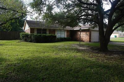 Alvin Single Family Home For Sale: 1208 Kost Road