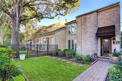 Houston Condo/Townhouse For Sale: 4317 Westheimer Road