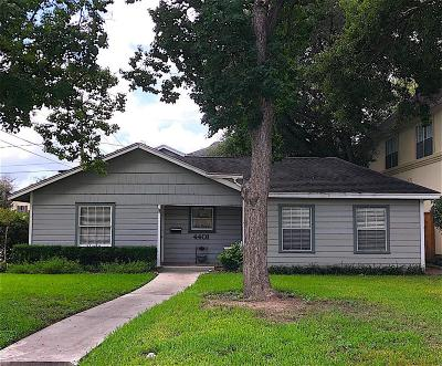 Bellaire Single Family Home For Sale: 4401 Valerie Street