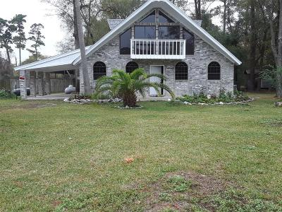 Channelview Single Family Home For Sale: 16643 Wood Drive