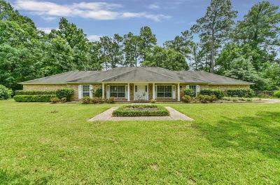 New Caney Single Family Home For Sale: 2310 Roman Forest Boulevard