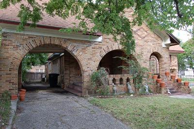 Houston Single Family Home For Sale: 5133 Polk Street