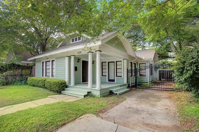 Houston Single Family Home For Sale: 1220 Bomar Street