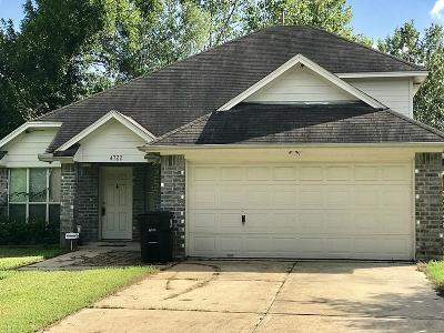 Houston Single Family Home For Sale: 4722 Sunbeam Street