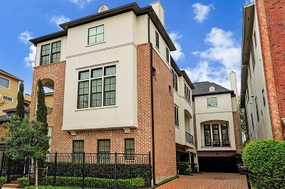 Houston Condo/Townhouse For Sale: 308 W Bell Street