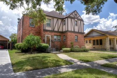 Houston Multi Family Home For Sale: 2810 Wentworth Street