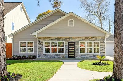 Houston Single Family Home For Sale: 1733 Saxon Drive