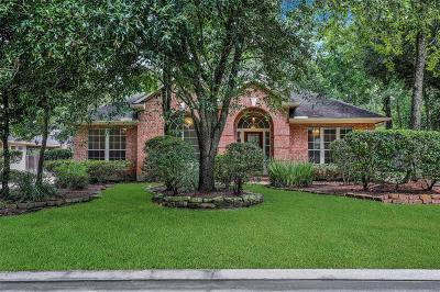 The Woodlands Single Family Home For Sale: 63 N Bluff Creek Circle