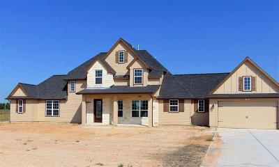 Alvin Single Family Home For Sale: 6811 Bayou Trail Drive