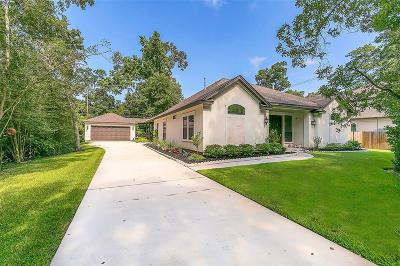 Conroe TX Single Family Home For Sale: $349,900