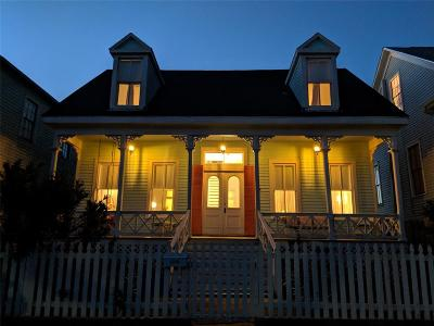 Galveston TX Single Family Home For Sale: $275,000