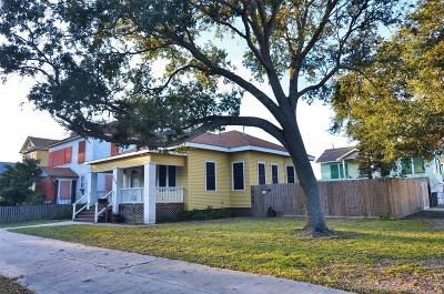 Galveston Rental For Rent: 3606 Avenue O 1/2