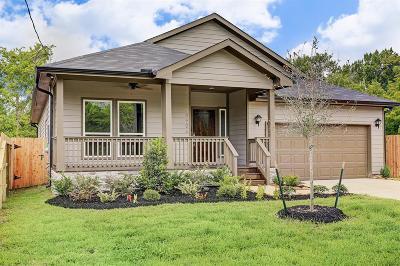 Houston Single Family Home For Sale: 4506 Brinkley Street