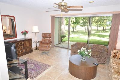 Magnolia, Montgomery, Shenandoah, Tomball, Spring Condo/Townhouse For Sale: 12900 Walden Road #1009J