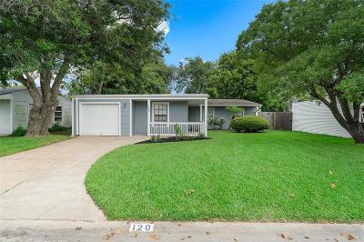 Galveston Single Family Home For Sale: 120 Barracuda Avenue