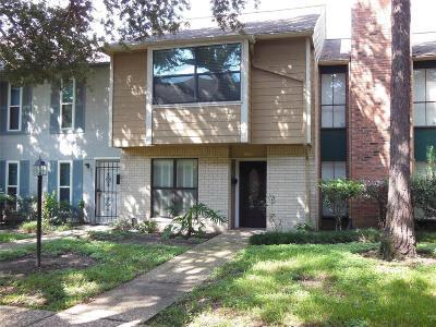 Houston Condo/Townhouse For Sale: 6643 Wanda Lane