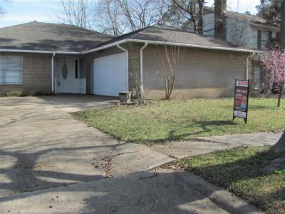Humble TX Single Family Home For Sale: $149,900