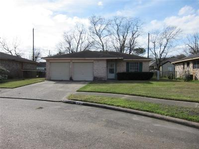 Houston TX Single Family Home For Sale: $104,000