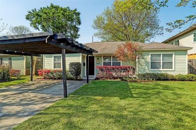 Houston Single Family Home For Sale: 1850 Saxon Drive