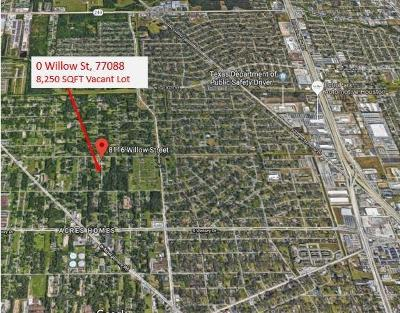 Houston Residential Lots & Land For Sale: Willow