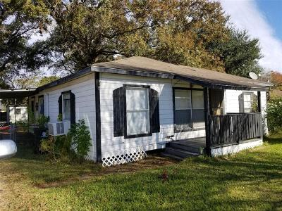 Houston TX Single Family Home For Sale: $87,000