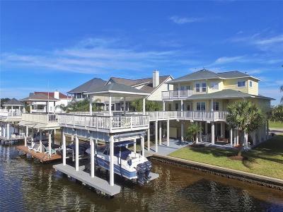 Galveston Single Family Home For Sale: 13719 Windlass Circle