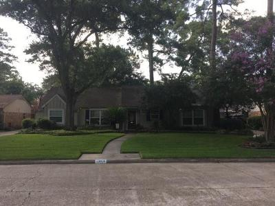 Houston Single Family Home For Sale: 13818 Pinerock Lane