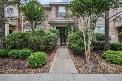 The Woodlands TX Condo/Townhouse For Sale: $289,000