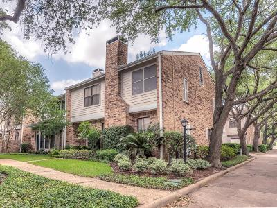 Houston Condo/Townhouse For Sale: 1473 Bering Drive #140