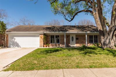 Houston Single Family Home For Sale: 5610 Ludington Drive