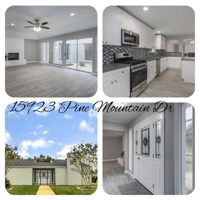 Houston TX Single Family Home For Sale: $194,900