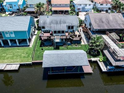 Bayou Vista Single Family Home For Sale: 1010 Redfish Street