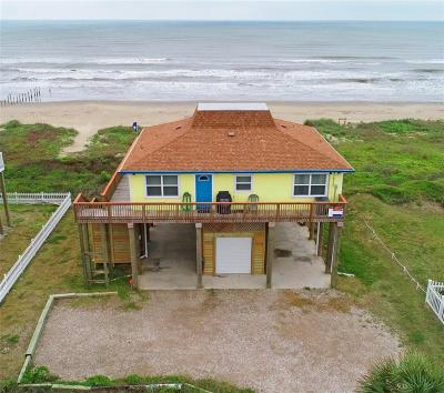 Galveston Single Family Home For Sale: 21210 Gulf Drive