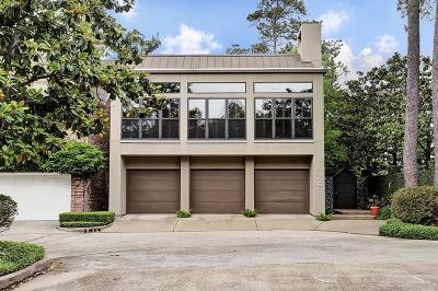 River Oaks Single Family Home For Sale: 10 S Briar Hollow Lane #6