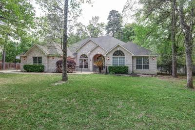 Conroe Single Family Home For Sale: 48 Lake Drive