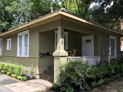 Houston Single Family Home For Sale: 729 Harvard Street