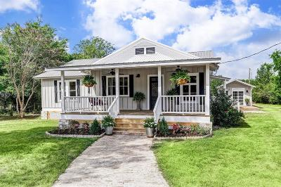 Round Top Single Family Home For Sale: 1642 Round Top Road