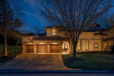 The Woodlands TX Single Family Home For Sale: $1,499,000