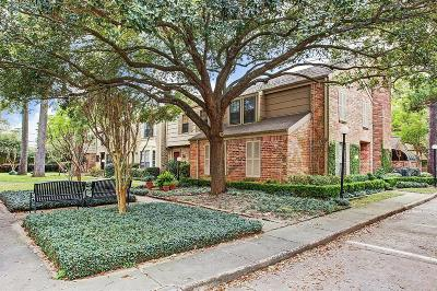 Houston Condo/Townhouse For Sale: 7505 Memorial Woods Drive #60