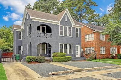 Houston Single Family Home For Sale: 2316 Arbor Street