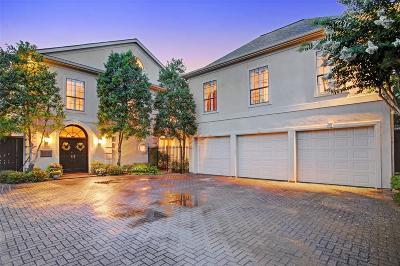 Houston Single Family Home For Sale: 1218 Nantucket Drive
